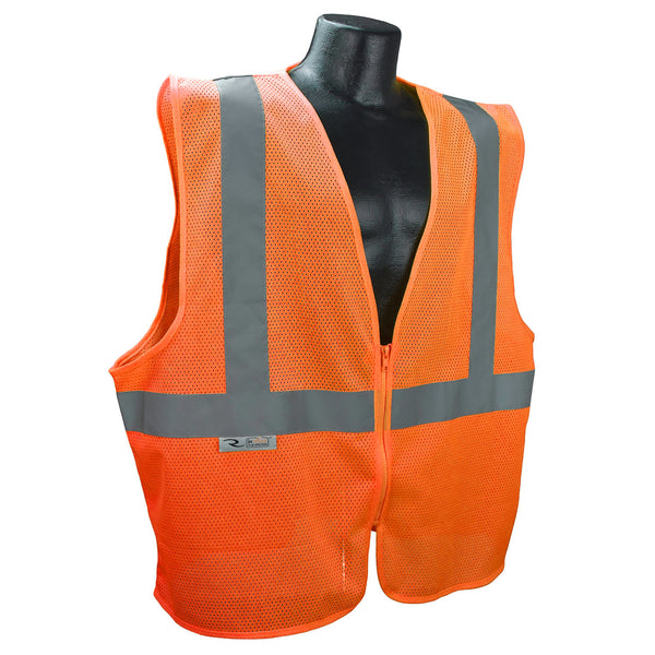 Radians SVE1 Economy TYPE R Class 2 Safety Vest - Orange
