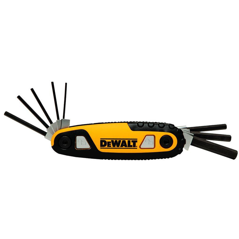 Dewalt Metric Locking Hex Key Set (8 Piece)