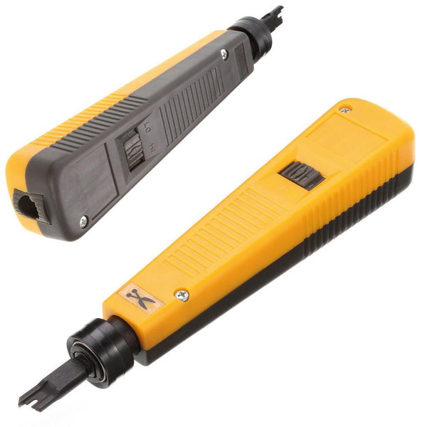 AG Cabes Punch Down Impact Tool - Yellow