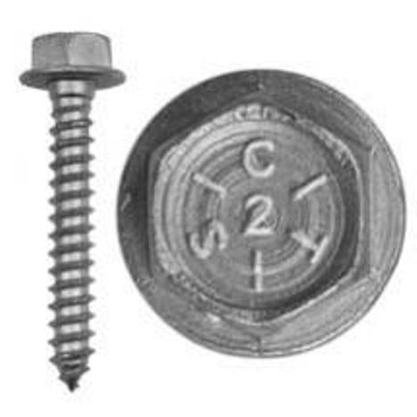 "Lag Bolt (washer head) 5/16 x 2"" - 100 pack"
