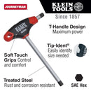 Klein JTH6E09 9/64-Inch Hex Key Journeyman T-Handle 6-Inch