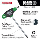 Klein T25 Torx® Hex Key with Journeyman T-Handle