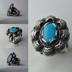 Sleeping Beauty Turquoise + Sterling