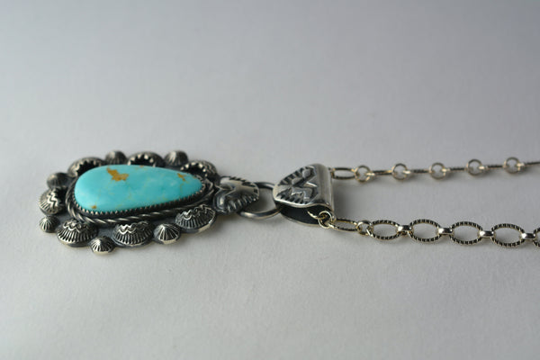 Kingman Turquoise + Sterling Silver