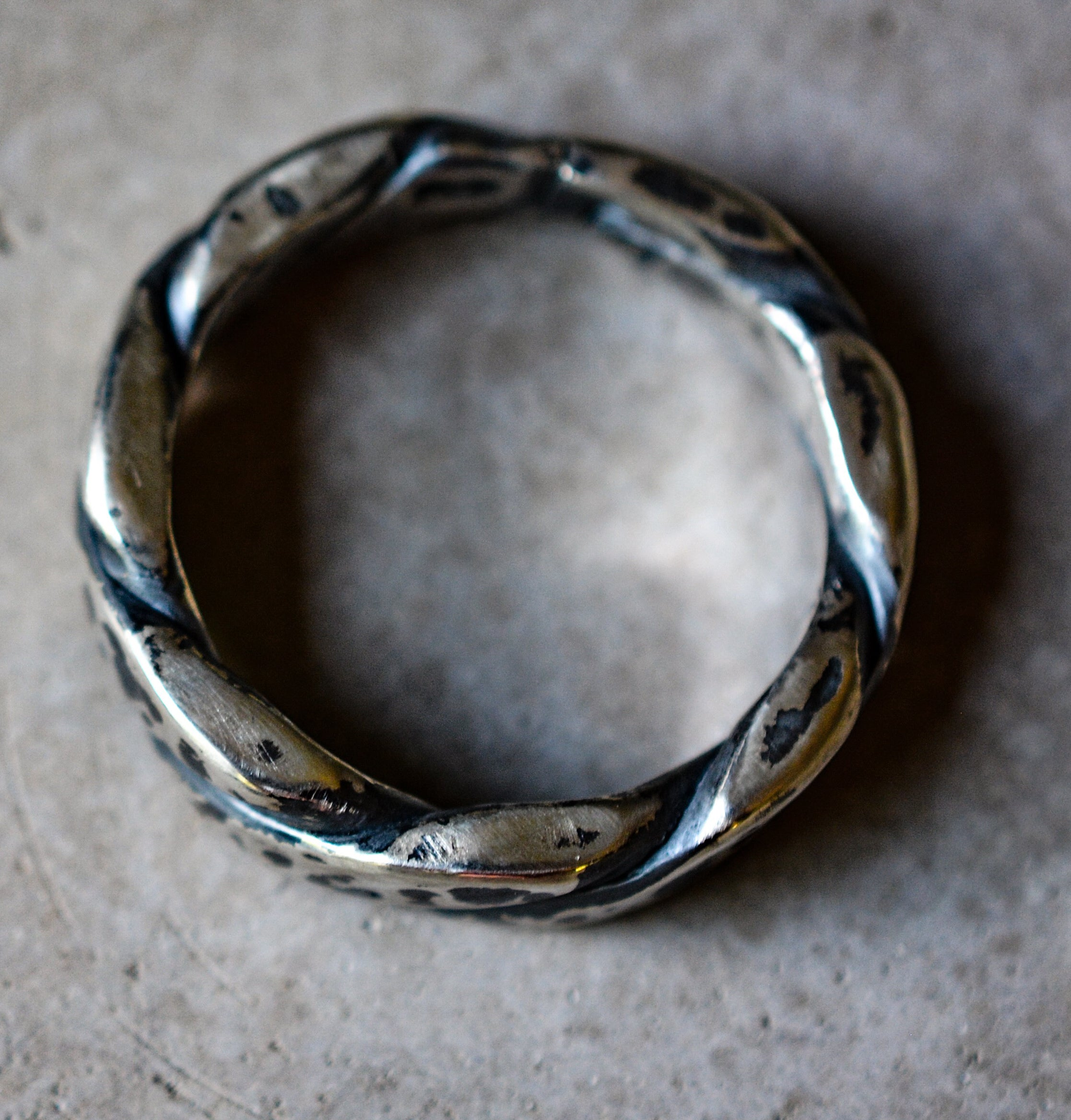 Ring: Braided Sterling Silver Band