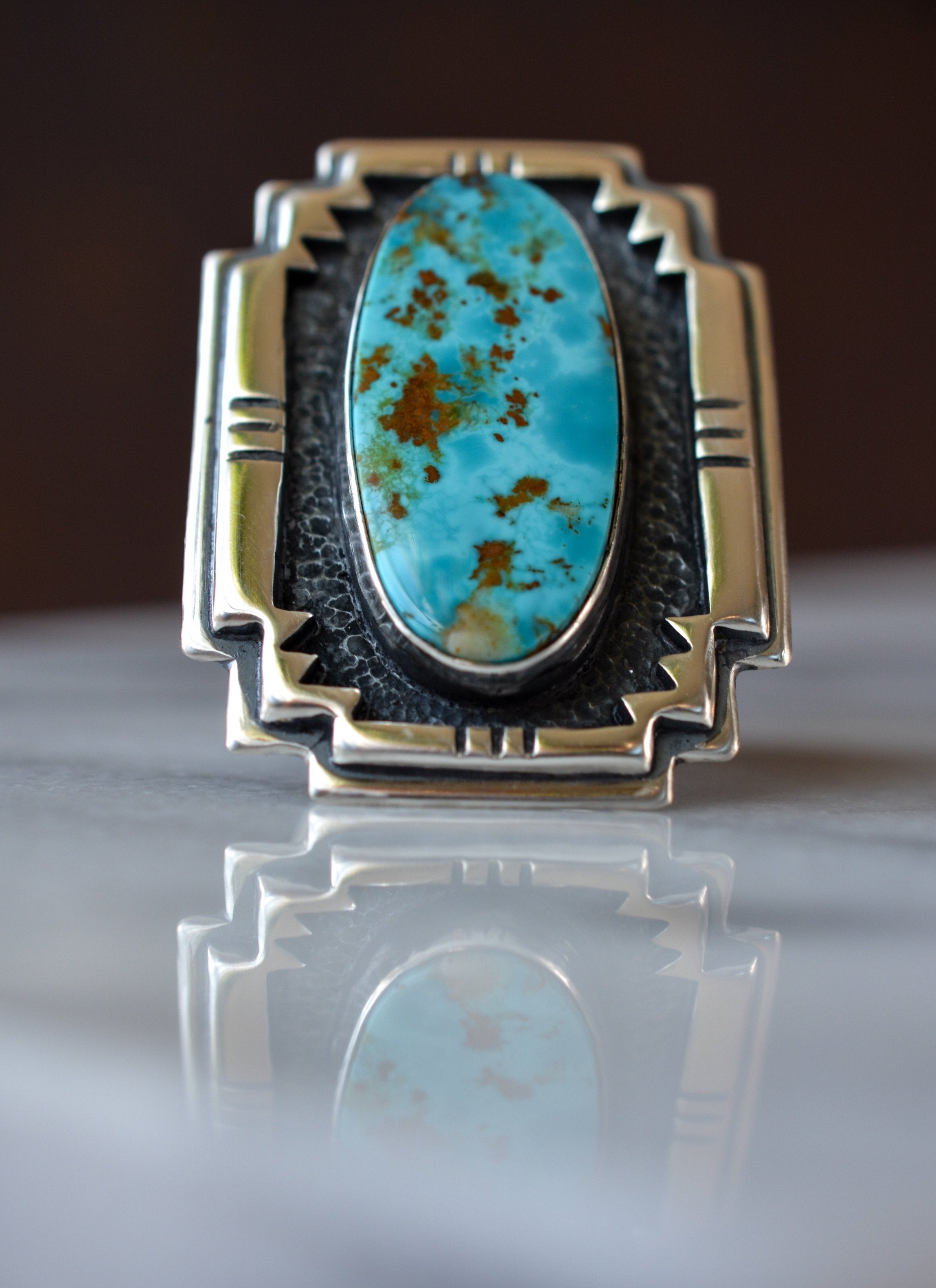 Royston Turquoise + Sterling Silver