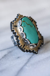 Ring: Royston Turquoise + Sterling Silver
