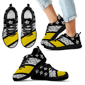 Thin Yellow Line Kid's Sneakers