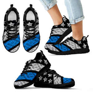 Blue Lives Matter Kid's Sneakers