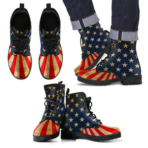 USA Men's Leather Boots
