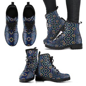 Ethnic Pattern Handcrafted Boots