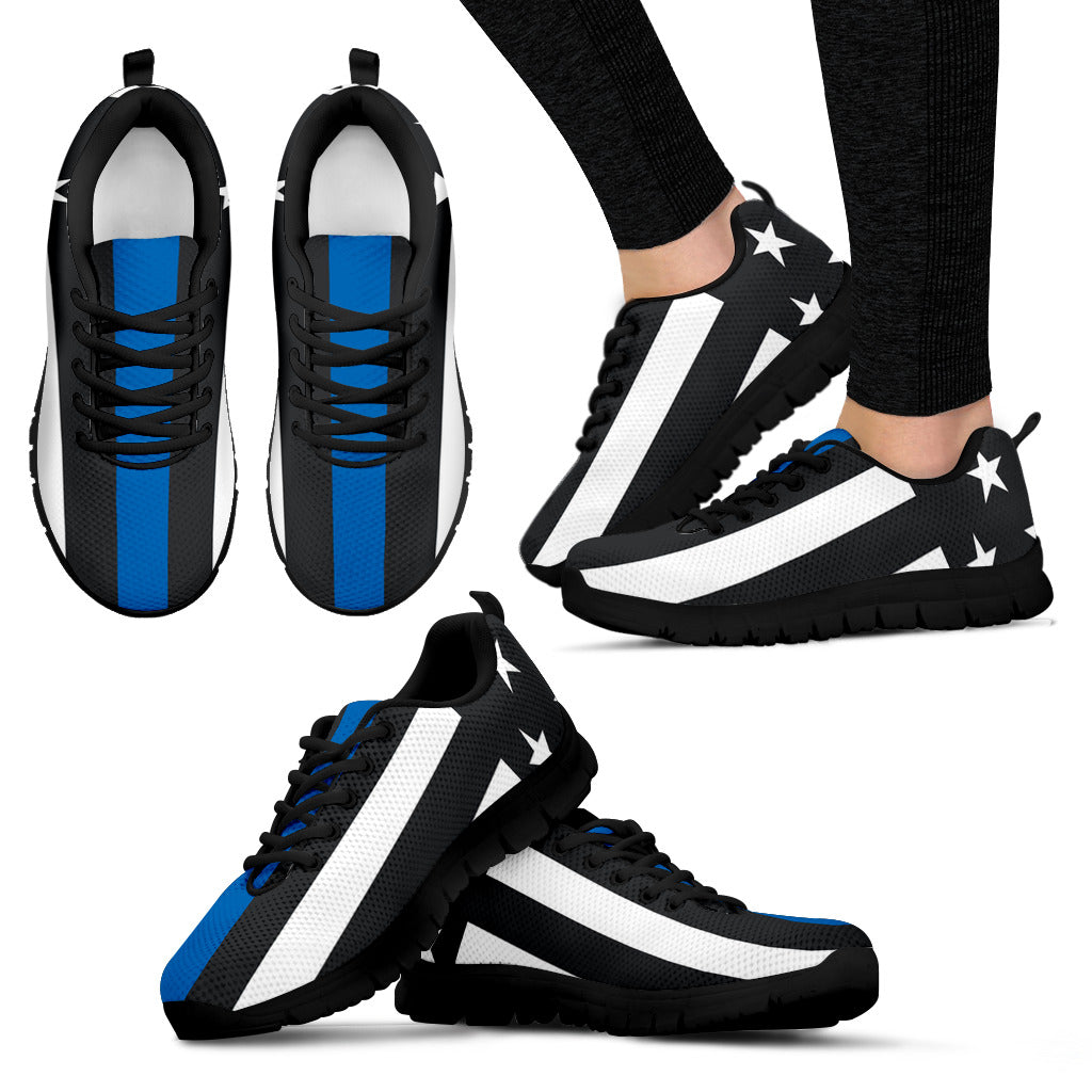 Blue line Women's Sneakers