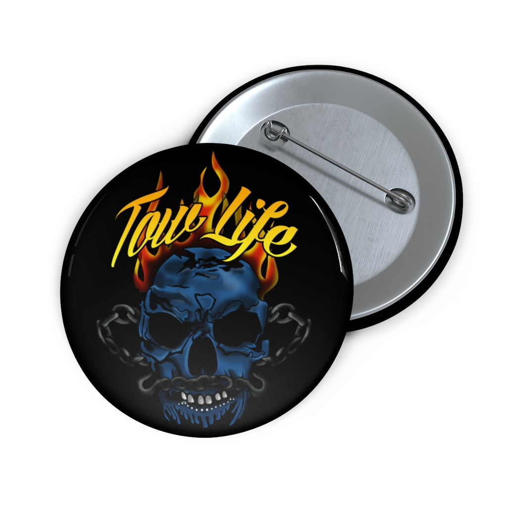 Tow Life Pin Buttons