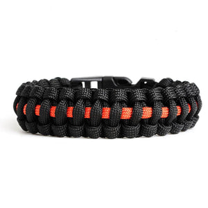 Thin yellow Line Paracord Bracelet©