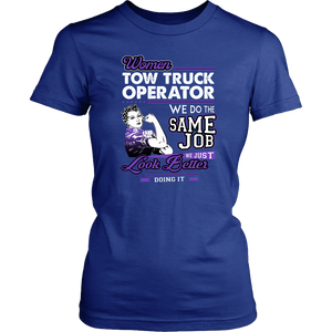 Proud Tow Truck Women Shirt