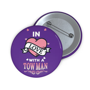 Tow Women Pin Buttons