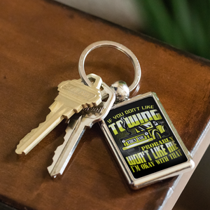 Proud Tow Operator Keychain