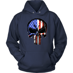 USA Flag Punisher T-shirt ©