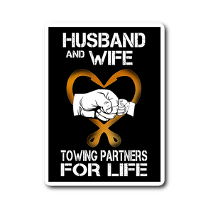 Towing Partners Sticker