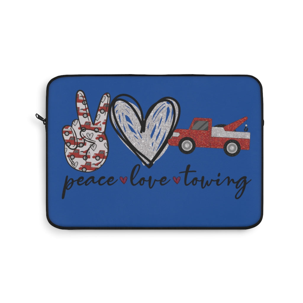 Peace Love Towing Laptop Sleeve