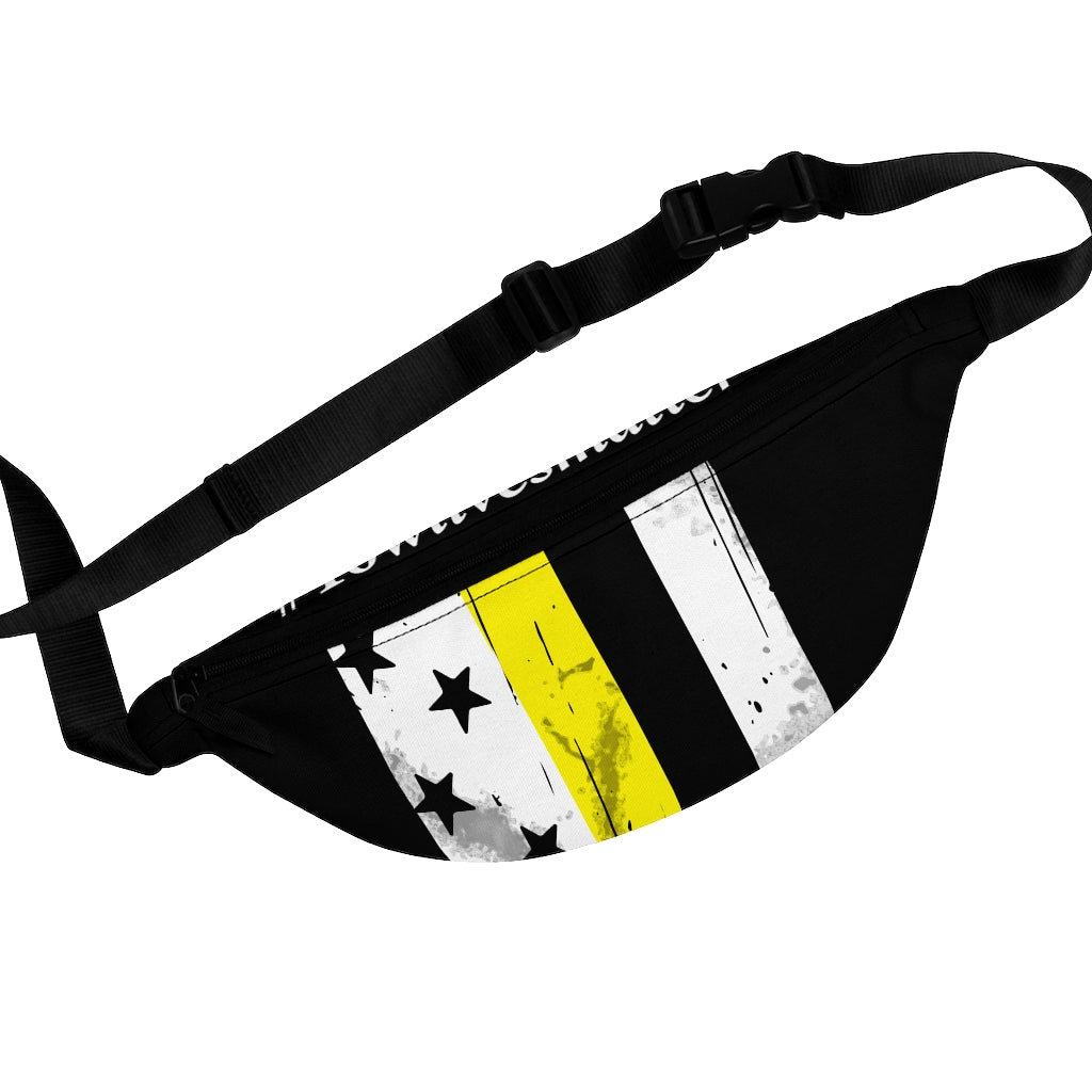 Thin Yellow Line Fanny Pack