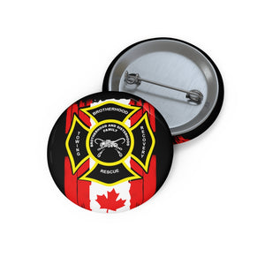 Towing Canadian Pin Buttons
