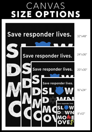 Save Responders Lives Canvas