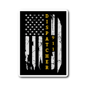 Dispatcher 911 Sticker