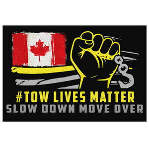 #Towlivesmatter Canvas - Canadian Version