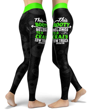 This Belongs TowTruck (Operator) Leggings