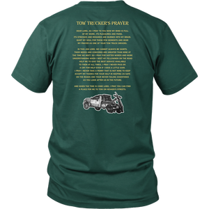 Tow Truck Operator's Prayer Shirt