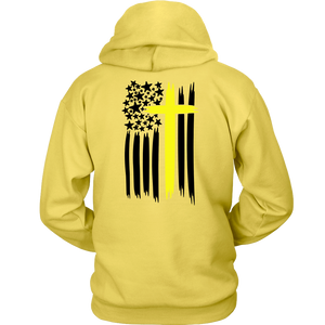 Thin Yellow Line Cross Shirt