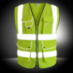 Reflective Vest High Visibility Safety Fluorescent