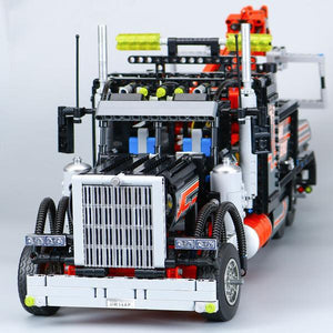 TOW TRUCK MODEL 1877 PCS BUILDING BLOCKS BRICKS
