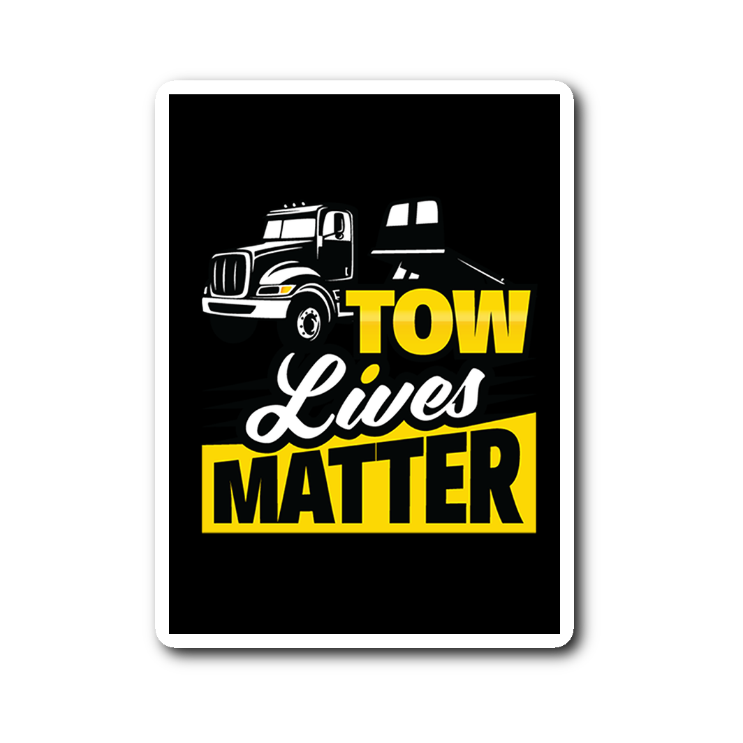 Tow Lives Matter Flatbed Sticker