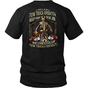 Skilled Tow Truck Operator Shirt
