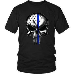 USA FLAG PUNISHER T-SHIRT