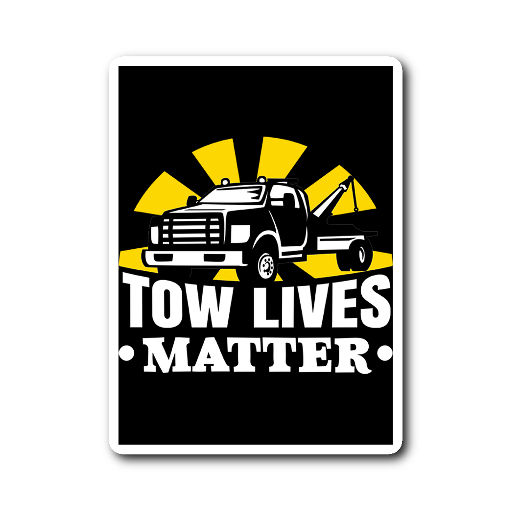 Tow lives matter Sticker