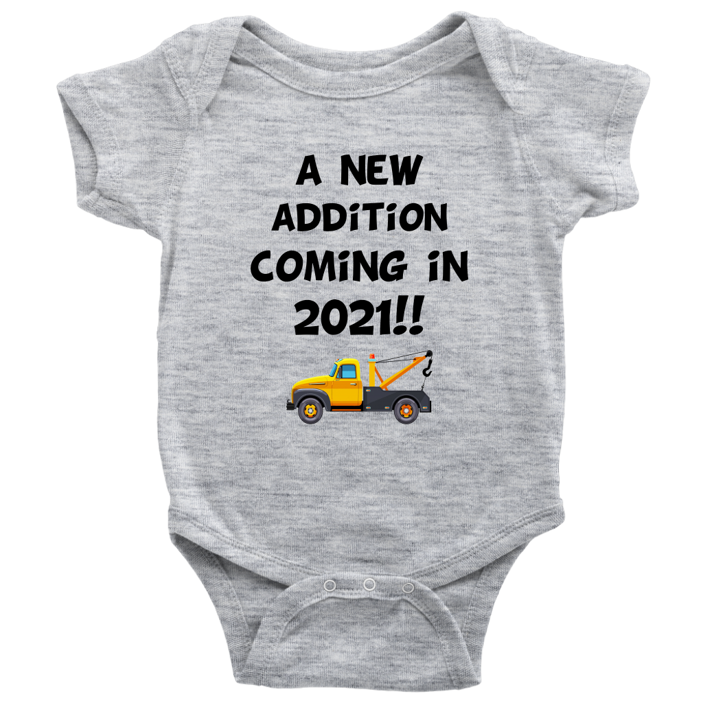 A New Addition Coming In 2021 Onesie