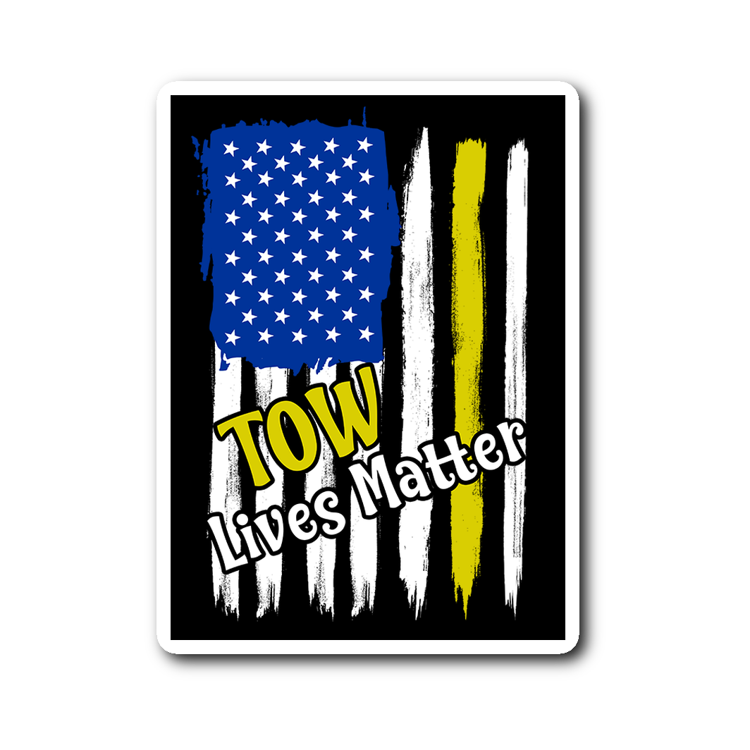 Towlivesmatter Sticker