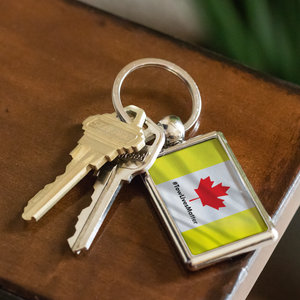 Canadian Towing Keychain