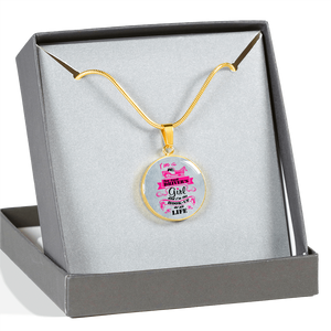 Tow Truck Driver's Girl Luxury Necklace