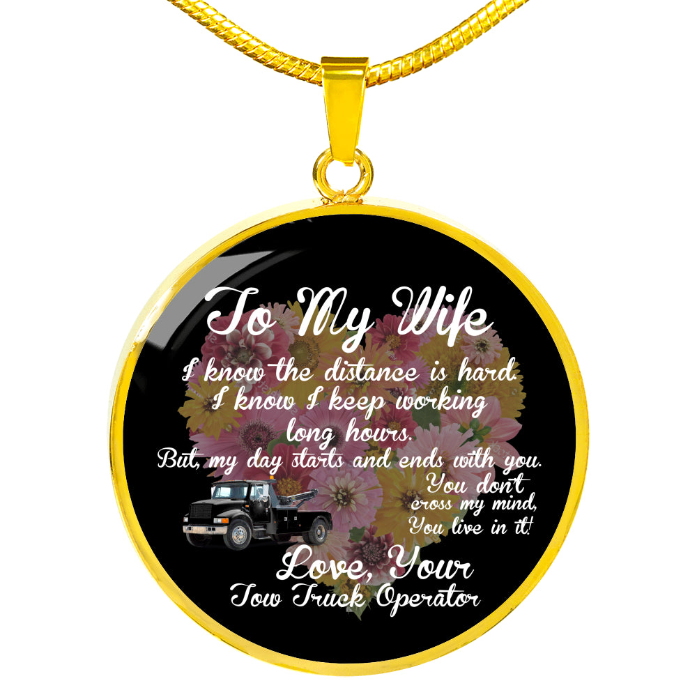 Proud Tow Wife Necklace