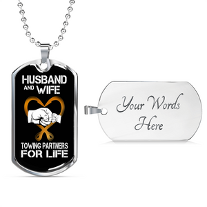 Husband & Wife Jewelry Chain
