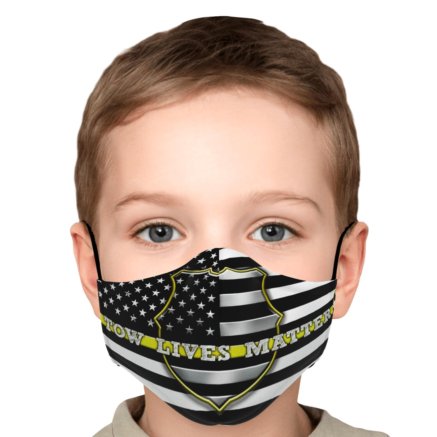 Tow Lives Matter Kid's Face Mask