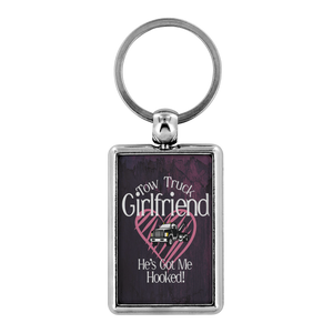 Proud Tow Girlfriend Keychain