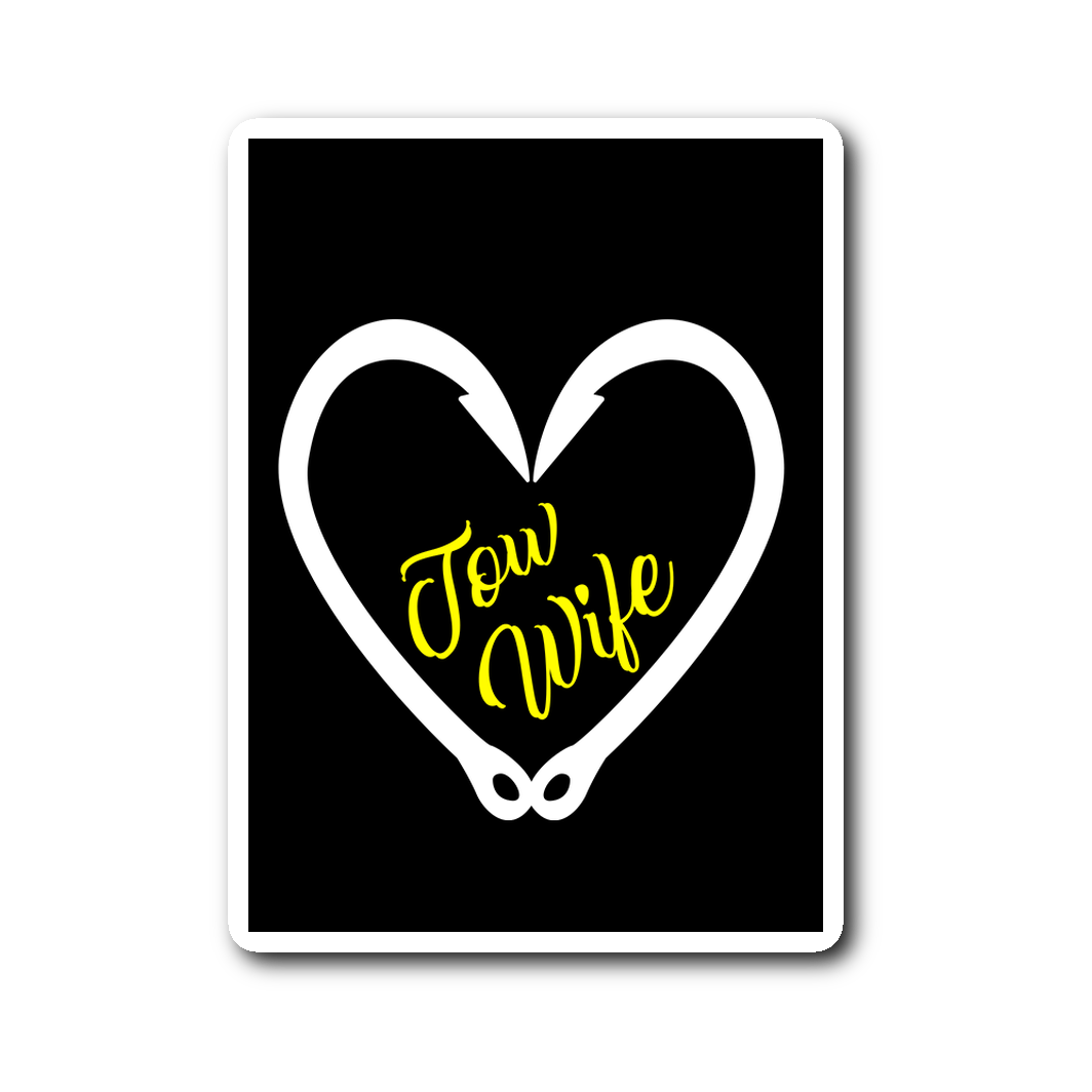 Tow Wife Sticker