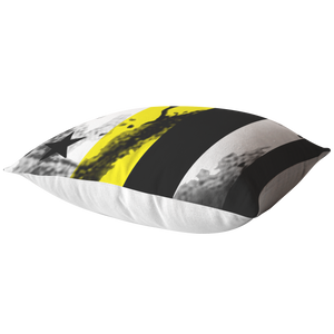 Thin Yellow Line Pillows