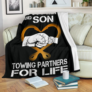 Father And Son Blanket