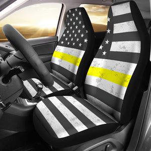Thin Yellow Line Cover Seat